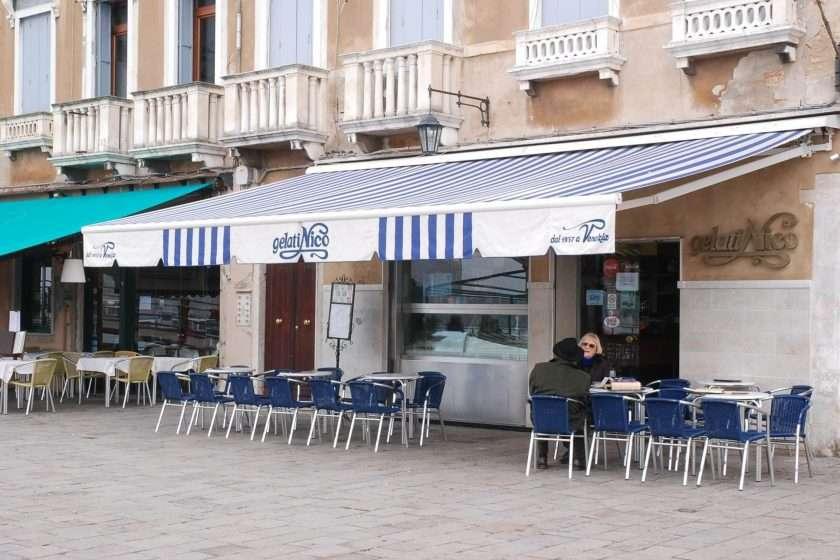Ice cream Nico Venice